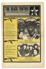BLACK PANTHER NEWSPAPER VOL.IV, NO.28 (JAN.9, 1971)-EMORY DOUGLAS