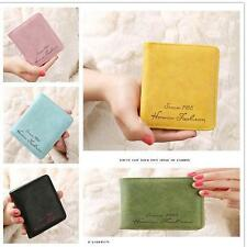 Cute Womens Leather Wallet Coin Purse Clutch Wallet Card Holder Small Bag v2