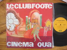 LE CLUB FOOTE CINEMA QUA VINYL RECORD LP 12""