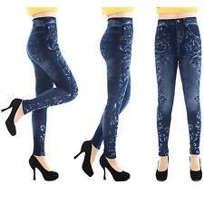 New Fashion Women Sexy Jean Skinny Jeggings Stretchy Slim Leggings Skinny Pants