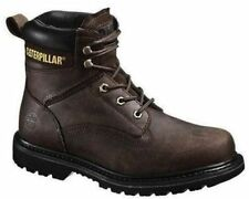 Mens Caterpillar® Rangler MR P90123 Brown Leather Steel-Toe Work Boots Size