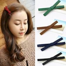 2 Pcs Wholesale Bowknot Hairpin Kids Baby Girls Hair Bow Clips Barrette Hot New