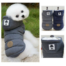 S-XL Fashion Warm Hoodie Coat Pet Dog Puppy Cotton Clothes Apparel Winter Jacket
