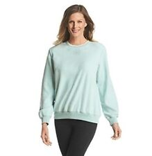 Alfred Dunner NWT L XL 1X Casual Mint Green Beaded Polyester Fleece 3 Qtr Slv