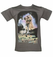 Official Men's Back to the Future Part II Movie Poster T-Shirt