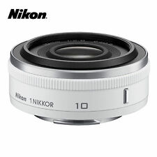 Nikon 1 NIKKOR 10mm f/2.8 Lens for J1 J2 J3 S1 V1 V2 _ White