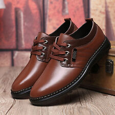 New Mens Dress Business Formal Oxford Leather Shoes Casual Lace Up Shoes Comfort
