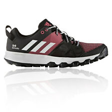 Adidas Kanadia 8 TR Womens Black Pink Running Road Shoes Trainers Sports Pumps