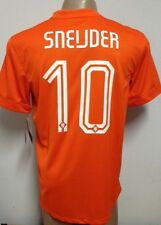 ORIGINAL 2014 NETHERLANDS HOLLAND HOME SOCCER JERSEY SNEIJDER #10 LARGE