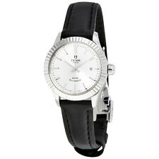 Tudor Style Automatic Silver Dial Ladies Watch 12110-SVLS