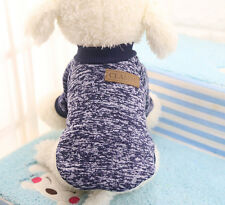 Pet Hoodie Dog Cat Sweater Puppy Knit Clothes Apparel Coat Costume Jacket S M L