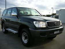 2000 Toyota Landcruiser GXL 100 series 4.5 dual fuel LPG automatic 4WD