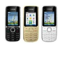 New Nokia C2-01 3G Sim Free Unlocked Bluetooth  Mobile Phone In Various Colours