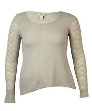 Lucky Brand Women's Long-sleeve Waffle-knit Thermal Sweater