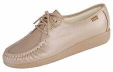 New SAS Siesta Work Shoe Comfort Arch Support Leather Mocha Shoes FREE SHIPPING