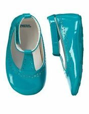 NWT Gymboree FOREST FRIENDS Teal Dress Crib Shoes Baby Girls 2,3,4