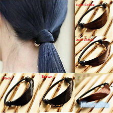 Womens Braid / Straight Wig Elastic Hair Band Rope Scrunchie Ponytail Holder