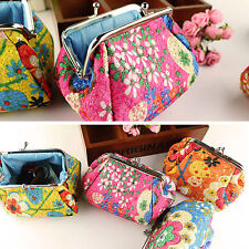 WOMEN'S FASHION CUTE EMBROIDERED CASE WALLET CARD KEYS POUCH COIN PURSE SELLING