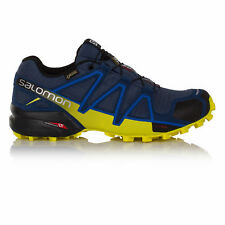 Salomon Speedcross 4 Mens Blue Gore Tex Waterproof Trail Running Shoes