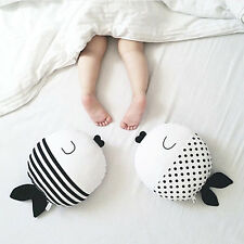Lovely Cartoon Fish Pillow Toys Kids Baby Soft Plush Toys Cute Christmas Gifts