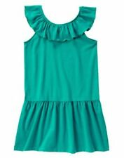 NWT Gymboree Mermaid Party Girls Sz 5 6 7 Teal Ruffle Dress