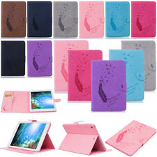 -YPBF Embossing Wallet PU Leather Case Cover For Apple iPad Air 2 1 Pro Mini 4 3