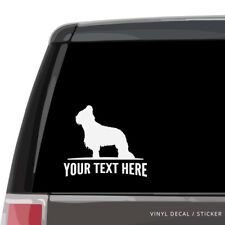 Briard Car Window Decal - Personalized Vinyl Sticker - laptop wall dog
