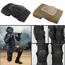 Tactical Military Elbow Knee Protective Pads outdoor sport Sets Adjustable #ISR