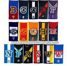 AFL Team Official Licensed Large Beach Towel - Bath Pool Gym Select Your Team