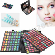 NEW more-Colorful Matte&Shimmer Eyeshadow Makeup Set Palette Cosmetic/brush OY