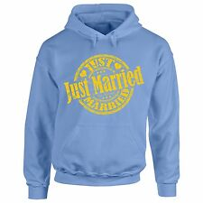 Sweatshirt S Just Married Hoodie T Wedding Bride Pullover Couple Groom Wife Gift