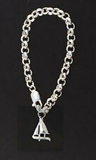 420 Sailboat Boat Bracelet Charm Sterling Silver  By The Miami Opti Moms