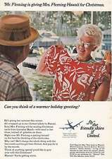 1967 United Airlines: Mr Fleming Print Ad (4619)