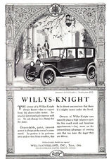 1920 Willys-Knight: British Embassy, Washington DC Print Ad (23778)