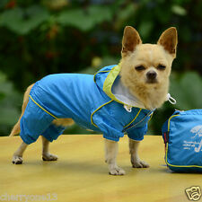 Pet Rain Coat Dog Puppy Cat Raincoat Waterproof Jacket Rainwear  XS, S, M, L, XL