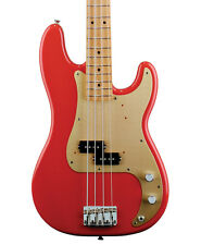 Fender 50s Precision Bass, Fiesta Red, Maple Neck (NEW)