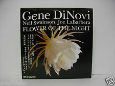 GENE DINOVI Flower of the Night JAPAN MINI LP CD NM w/OBI MMEX-110