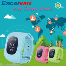 Kids Child Safe Smart Watch Pedometer GPS Tracker SOS Phone Watch Android Iphone