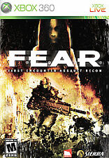 F.E.A.R.: First Encounter Assault Recon (Microsoft Xbox 360, 2006) GAME COMPLETE
