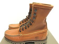 Timberland Authentic 7 Eye Chukka Brown Boots Men's Classic Shoes RRP £160