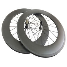 88mm Clincher Carbon Wheels Road Bike Bicycle Racing Ultra Light Wheelset