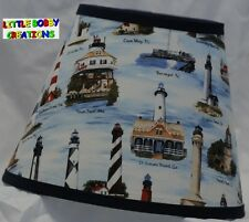 NAUTICAL LIGHTHOUSES Lamp Shade (by LBC)  SHIPS WITHIN 24 TO 48 HOURS!!!