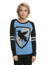 Women's Harry Potter Sweater Ravenclaw Pullover Shirt Sweatshirt Jumper XS - 3X