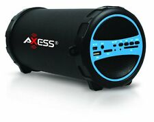 Bluetooth Portable Speaker Wireless Bass Stereo Black Pc Tablet Rechargeable NEW