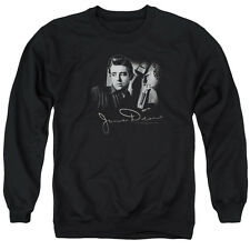 James Dean Icon Movie Actor Mementos Adult Crewneck Sweatshirt