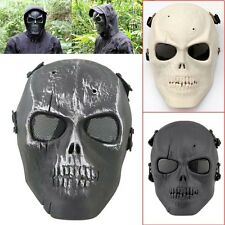 Tactical Army Airsoft Paintball Hanting Protective Full Face Skull Skeleton Mask