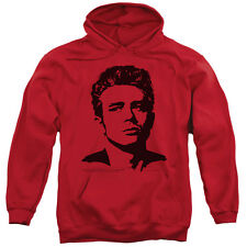 James Dean Silhouette Icon Actor Movie Juniors Adult Pull-Over Hoodie Tee