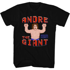 Andre The Giant Eighth Wonder Of The World Adult T-Shirt Tee WWE 80s Wreck it