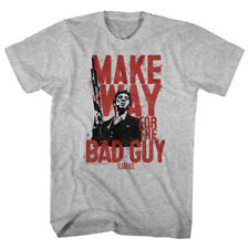 Scarface Gangster Crime Movie Al Pacino Make Way For Bad Guy Adult T-Shirt Tee