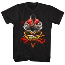 Street Fighter Video Martial Arts Arcade Game Crossed Arms Adult T-Shirt Tee